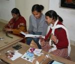 Jagadha with artisans