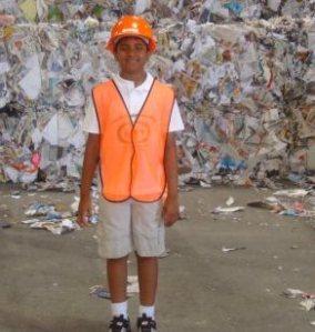 Pavan at the dump1